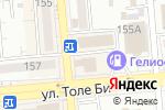 Схема проезда до компании Артикль в Алматы