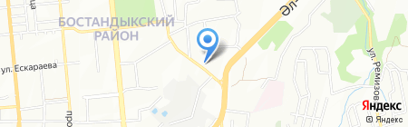 Evo Travel на карте Алматы