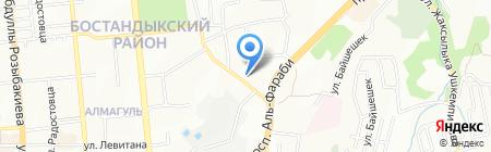 SAKURA COMPANY на карте Алматы