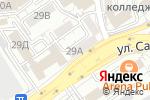 Схема проезда до компании Secret в Алматы