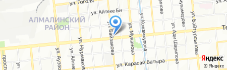 Lamazi Textile на карте Алматы