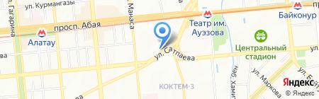 Переговорный пункт на карте Алматы