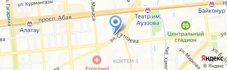OLIMP на карте Алматы