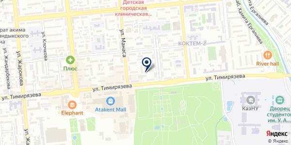Восточная гармония на карте Алматы