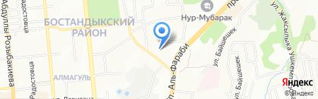 1000 дорог на карте Алматы