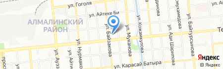 Алматыкалажер на карте Алматы