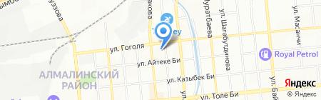 Бастау на карте Алматы
