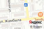 Схема проезда до компании Салтанат в Алматы