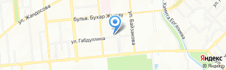 Хозяюшка магазин хозяйственных товаров и косметики на карте Алматы