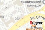Схема проезда до компании Галерея красоты и уюта в Алматы