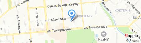 Asia Discovery на карте Алматы