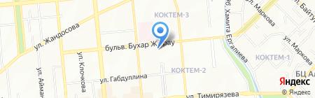 Скверик продуктовый магазин на карте Алматы