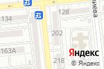 Схема проезда до компании МегаТекст в Алматы