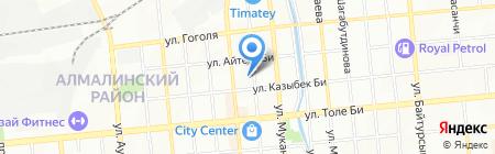 Школа-гимназия №136 на карте Алматы