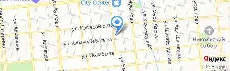 Бренды Европы на карте Алматы