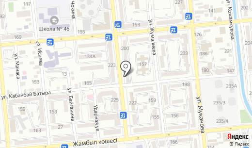 Планета Пива. Схема проезда в Алматы