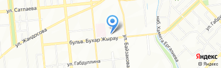 Детская поликлиника на карте Алматы