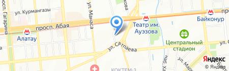 Гиппократ на карте Алматы