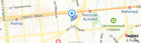 Gloss на карте Алматы