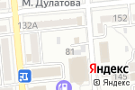 Схема проезда до компании MiaPizza в Алматы
