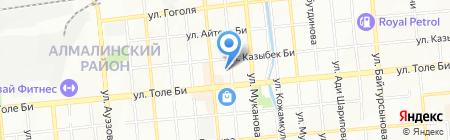 MiaPizza на карте Алматы