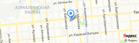 Магазин мужской одежды и аксессуаров на карте Алматы