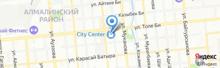 Chocote на карте Алматы