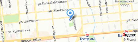 Национальный научно-практический центр коррекционной педагогики на карте Алматы