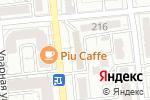 Схема проезда до компании I-TECH в Алматы