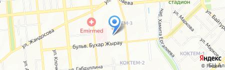 Детская городская клиническая инфекционная больница на карте Алматы