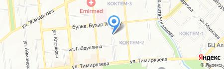 Общеобразовательная школа №10 на карте Алматы