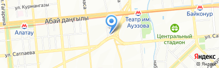 ИНСАН ТУР на карте Алматы