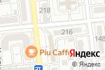 Схема проезда до компании FPS в Алматы