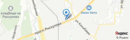 Казвторчермет на карте Алматы