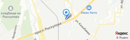 Алматранс на карте Алматы