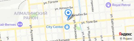 Grand Asia на карте Алматы