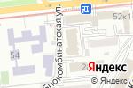 Схема проезда до компании КАЗКОММЕРЦ-LIFE в Алматы