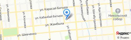 Спецэлектромонтаж на карте Алматы