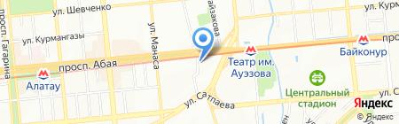 Прогресс Строй на карте Алматы