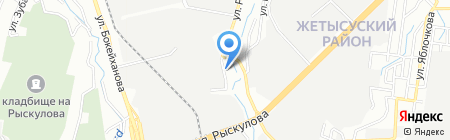 International Auto Parts на карте Алматы