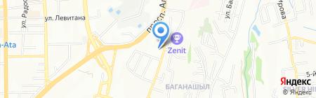 Алматинский областной детский дом №1 на карте Алматы
