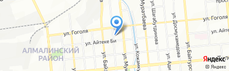 Laguna на карте Алматы