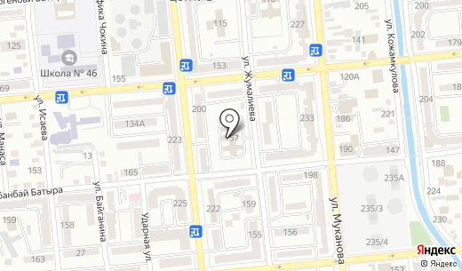 Advance digital Kazakhstan. Схема проезда в Алматы