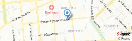 Дента Плюс на карте Алматы