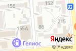 Схема проезда до компании BUSINESS APPLICATIONS SOLUTIONS в Алматы