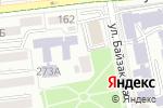 Схема проезда до компании Центр социальной адаптации и профессионально-трудовой реабилитации детей и подростков с нарушениями умственного и физического развития в Алматы