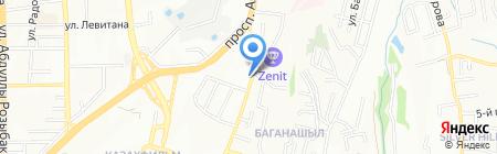 Настоящий хозяин на карте Алматы