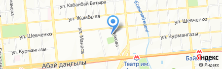 Специальное образование в Казахстане на карте Алматы