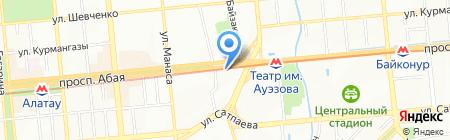 CARICC Центральноазиатский региональный информационный координационный центр по борьбе с незаконным оборотом наркотических средств на карте Алматы