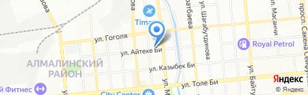 Альрамир на карте Алматы